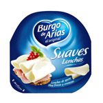 Arias queso lonchas suaves de 125g.