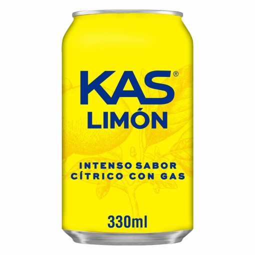 Kas refresco limon de 33cl. en lata