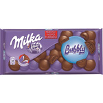 Milka bubbly chocolate relleno tableta de 90g.
