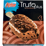 Kalise trufo plus helado brownie chocolate estuche de 225g. por 3 unidades