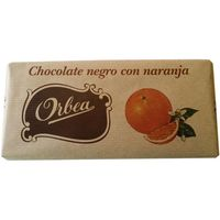 Orbea chocolate con naranja tableta de 125g.