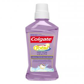 Colgate enjuague bucal total pro encias sanas de 50cl.