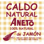 Aneto caldo jamon 100% natural envase de 50cl.