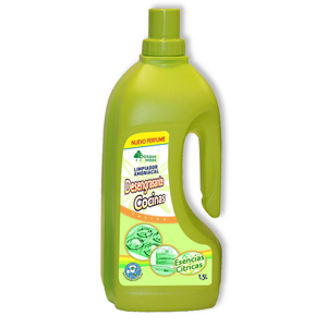 Bosque Verde quitagrasa cocina amoniacal citrico de 1,5l. en botella