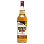 Dyc red one whisky con aroma cherry sabor suave de 70cl. en botella