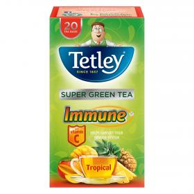Tetley te verde tropical 20