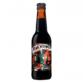 La Imperial cerveza black block stout cerveses pirata de 33cl.