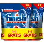 Finish calgonit detergente lavavajillas power ball todo en 1 35 en pastilla