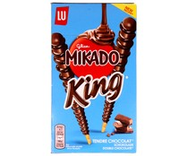 Mikado galletas en forma palitos cubiertas chocolate king de 51g.