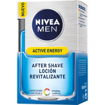 Nivea Men hombre skin energy after shave locion splash refresca calma piel de 10cl. en bote