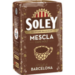 Soley cafe molido mezcla de 250g.