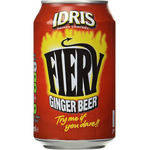 Idris fiery ginger beer refresco de 33cl. en botella