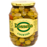 Rosello cocktail aceitunas de 550g.