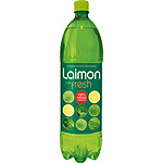 Laimon Fresh refresco lima limon menta con gas 100% ingredientes naturales de 1,5l. en botella