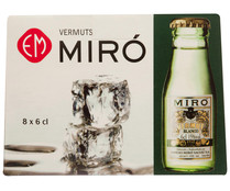 Miro vermouth blanco de 60ml. en botella