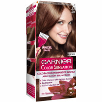 Garnier color sensation tinte rubio oscuro nº 6 0 coloracion permanente intensa pincel gratis en caja