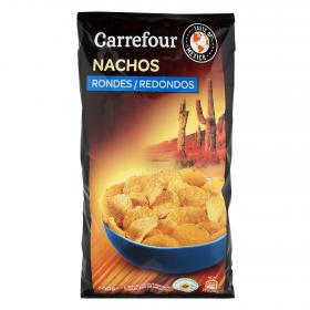 Carrefour nachos natural de 200g.