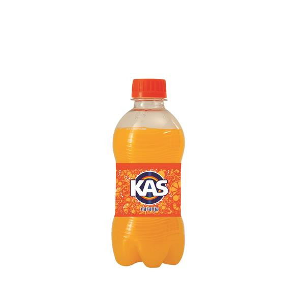 Kas junior naranja de 33cl. en botella