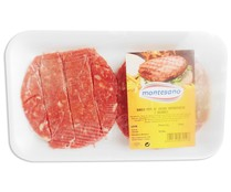 Montesano burger meat ternera hamburguesa de 180g.
