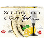 Bornay you by copitas sorbete limon al cava estuche de 60cl. por 6 unidades