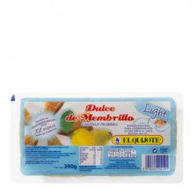 El Quijote dulce membrillo light de 400g.