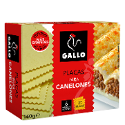 Gallo placas canalones de 160g.