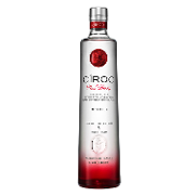 Cîroc vodka red berry de 75cl.