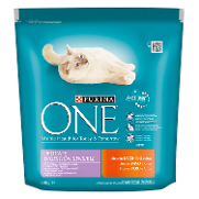Menu gato digestion sensible rico en pavo arroz one de 800g.
