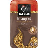 Gallo helices integrales de 500g. en paquete