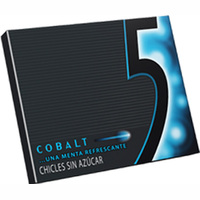 Five chicles cobalt menta de 31g. en paquete