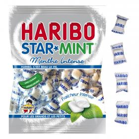 Haribo star mint menta intenso de 200g.