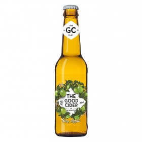 Sidra seca de manzana verde the good cider dry apple de 33cl. en botella