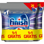 Finish calgonit detergente lavavajillas super power quantum 26 en pastilla