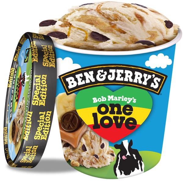 Ben & Jerry's one love platano con caramelo de 50cl.