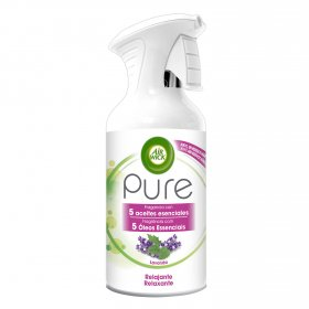 Air Wick aerosol pure essential oils relajante lavanda de 25cl.