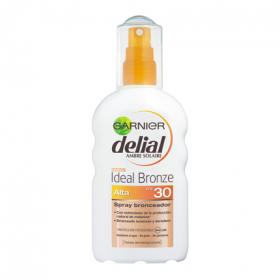 Delial ideal bronze bronceador fp 30 resistente al agua de 20cl. en spray