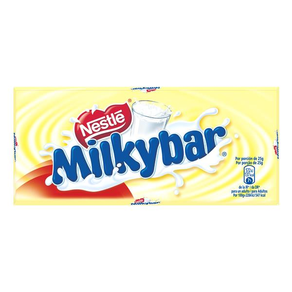 Milkybar chocolate blanco milkybar tableta de 75g.