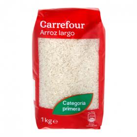 Carrefour arroz largo de 1kg.