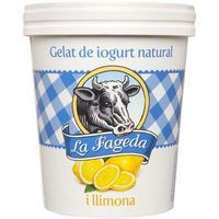 La Fageda gelats iogurt natural llimonada de 50cl. en tarrina