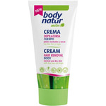 Body Natur sensitive crema depilatoria cuerpo con aloe vera argan piel normal seca tubo de 20cl.