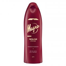 Magno gel ducha rouge intenso de 55cl.