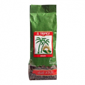Trópico cafe en grano natural de 500g.