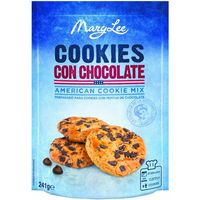 Mary Lee mix cookies con chocolate de 241g. en bolsa