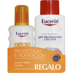 Eucerin sun spfp 50 piel sensible protector solar nivel muy alto proteccion celular facil absorcion es ideal piel normal de 20cl. en bote