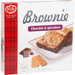 Forchy brownie de chocolate y galletas speculoos de 285g. en caja