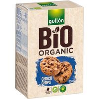 Gullón galletas choco chips bio de 250g.