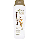 Babaria body milk avena con aceite sesamo piel normal de 50cl. en botella