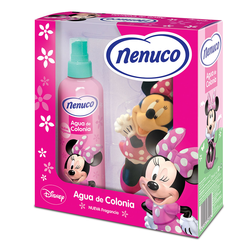 Nenuco bebe agua colonia infantil muñeco minnie de 17,5cl. en spray