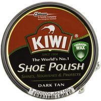 Kiwi crema color marron oscuro de 50ml. en lata