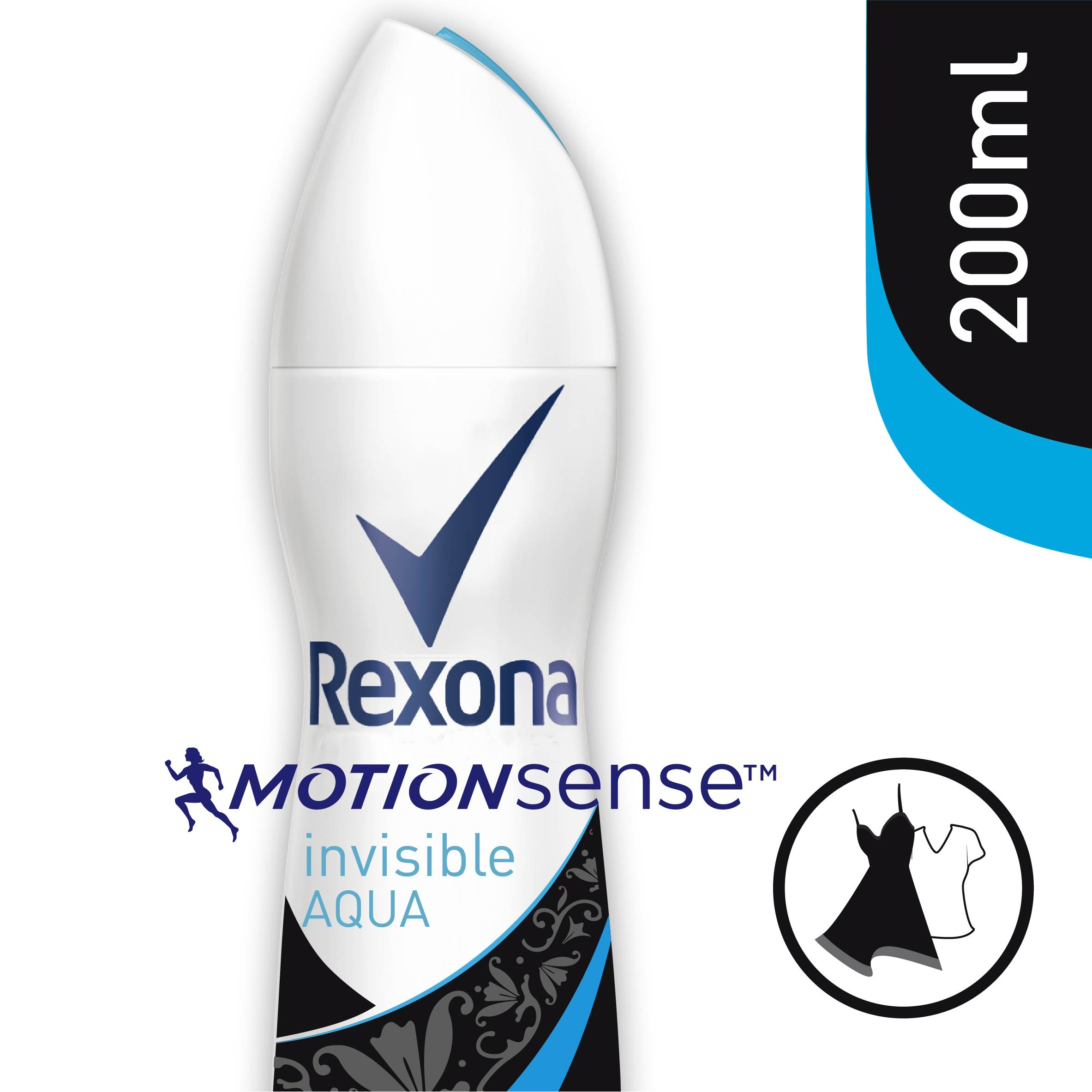 Rexona rexona deo aero clear diamond de 20cl. en spray